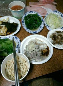 林さんの家の晩御飯